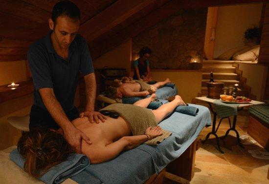 Le Village Spa: trattamenti in coppia nella baita suite