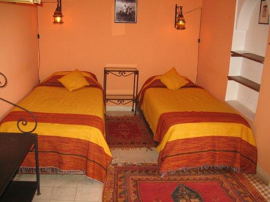 Marhbabikoum: chambre orange