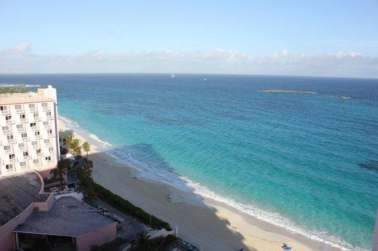 Hotel Riu Palace Paradise Island: Вид из номера