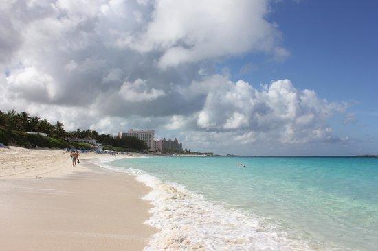Hotel Riu Palace Paradise Island: Пляж