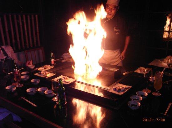 Padma Resort Legian: レストラン「天海」