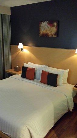 Hotel Solo Sukhumvit 2: Heerlijk bed.