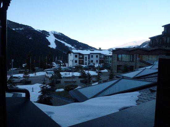 Hotel Piolets Park & Spa: Balcony view