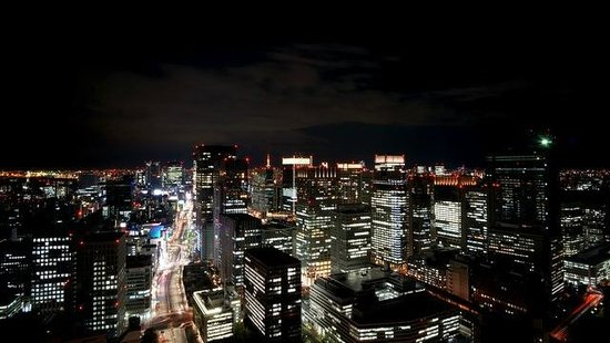 Mandarin Oriental, Tokyo: 東側の夜景