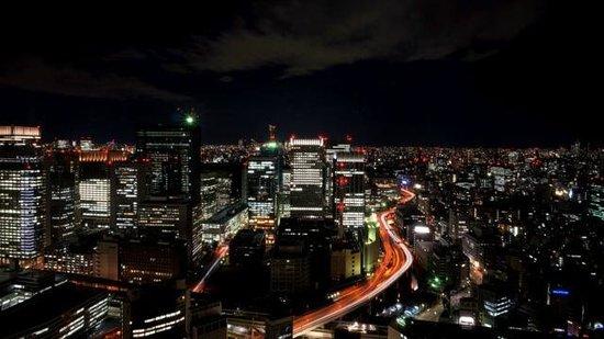 Mandarin Oriental, Tokyo: 西側の夜景