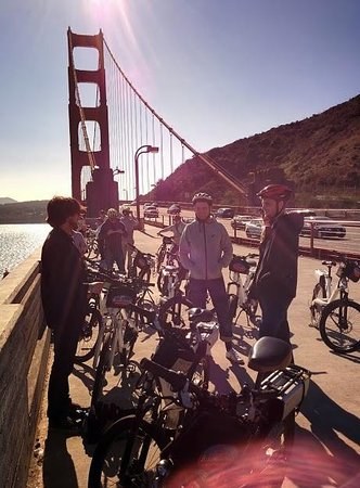 Electric Bike Tour Over the Golden Gate: Electric Bike Tour San Francisco