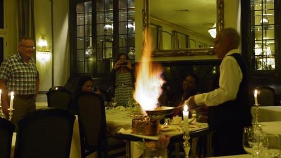 Bosman's Restaurant : Crepe Suzette