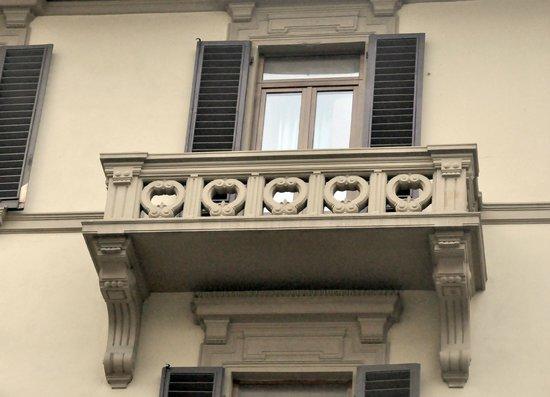 Hotel Palazzo Ognissanti: Balcón de la 304