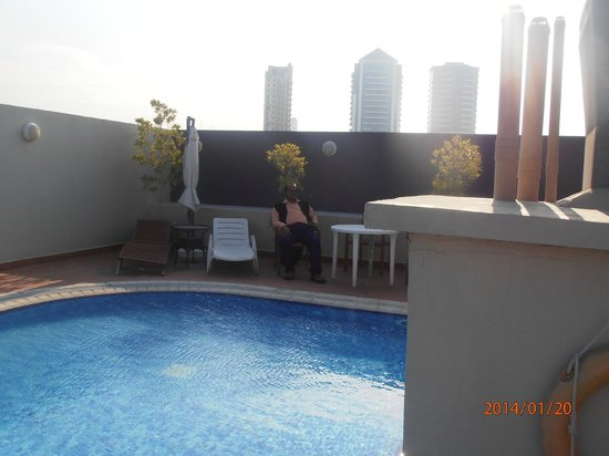Fortune Grand Hotel Apartment : Swiming Pool area at Roof top