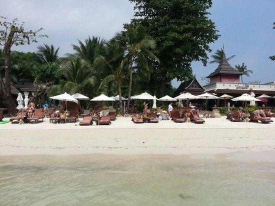 Muang Samui Spa Resort : Plage de l'hôtel...