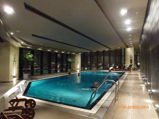 Piscina picture of corinthia hotel prague prague for Spa hotel prague