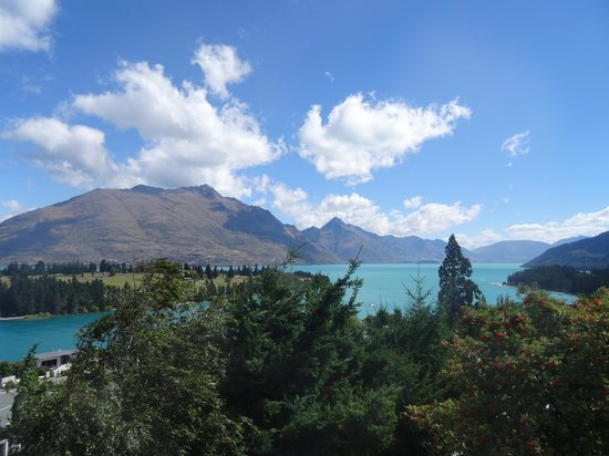 Campbell's B&B on Earnslaw: View from the B&B