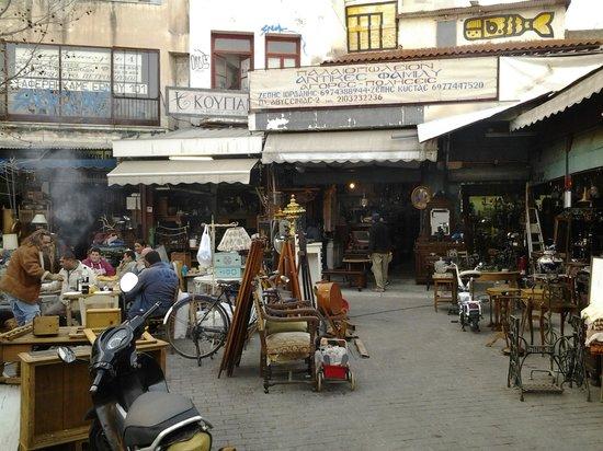 Cafe Avissinia: Εμπρός από την είσοδο