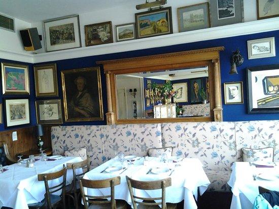 Cafe Avissinia: Εσωτερικό 1ου ορόφου