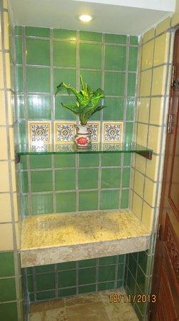 Pacific Club Resort : fin detalj i badrummet