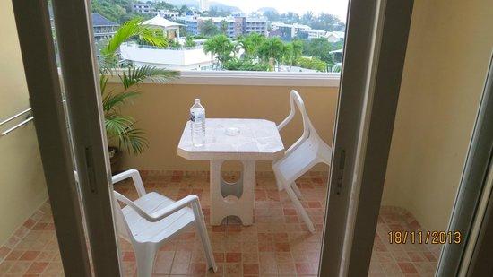 Pacific Club Resort : mkt bra balkong