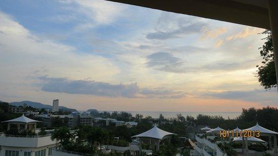 Pacific Club Resort : utsikt solnedgång deluxe