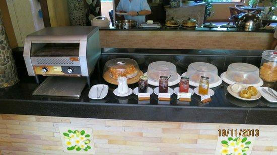 Pacific Club Resort : frukost