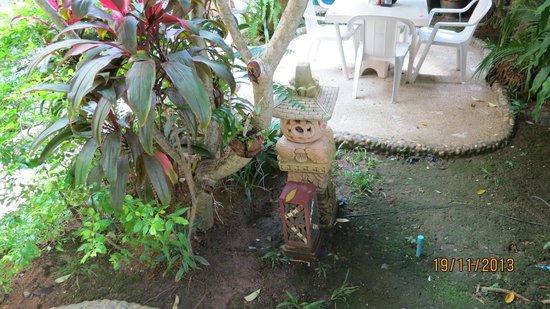 Pacific Club Resort: trädgården