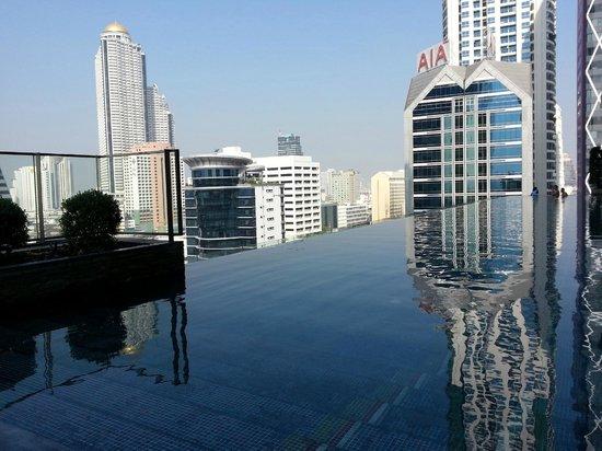 Eastin Grand Hotel Sathorn: Pool-View