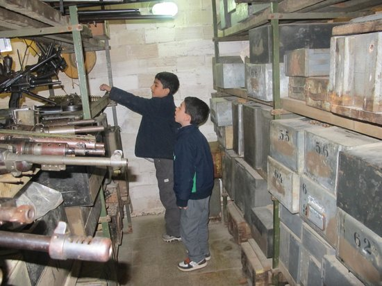 Kfar Giladi Hotel : The secret hidden of weapons