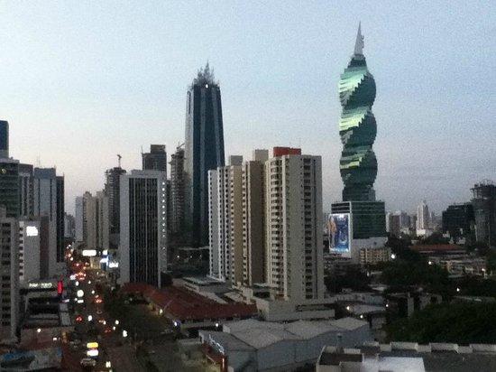 Hard Rock Hotel Panama Megapolis: esta foto es de la terraza del hotel