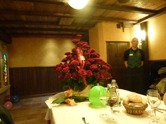Casa Marieta: La carbonera: reservado del restaurante