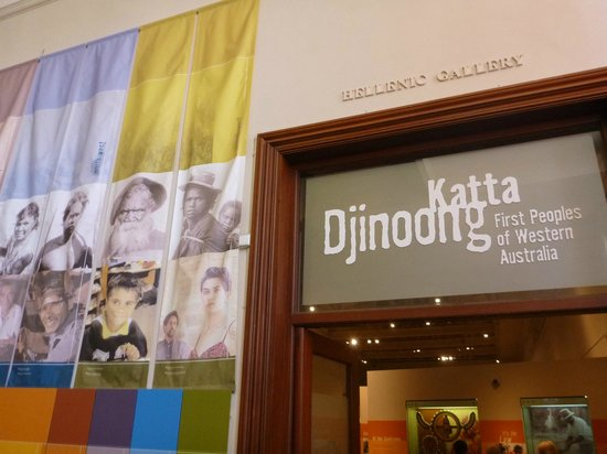 Western Australian Museum - Perth: アボリジニーについての展示入り口