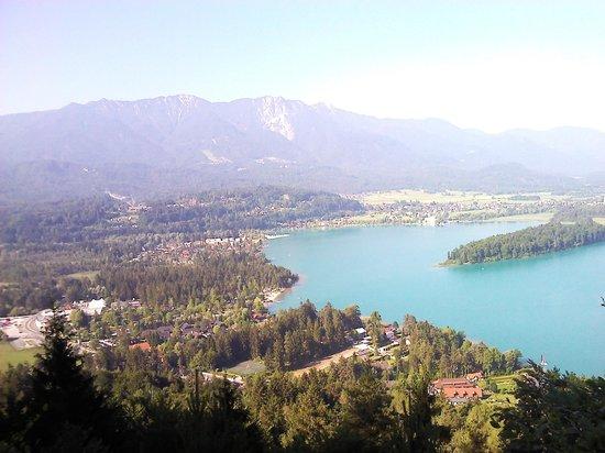 Naturel Hoteldorf Seeleitn: Вид с горы