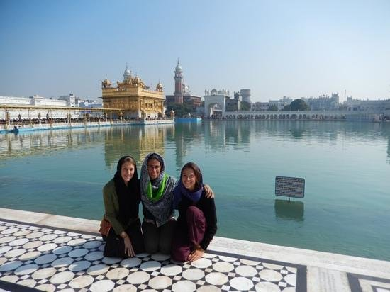 The Hotel Grace is just behind the Golden Temple!