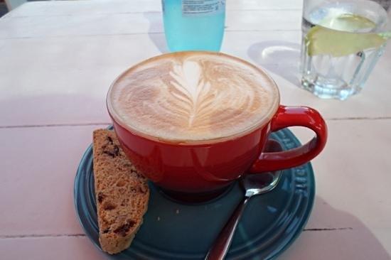 East Head Cafe: really good coffee