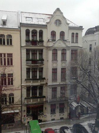 Berlin Mark Hotel: vista dalla camera