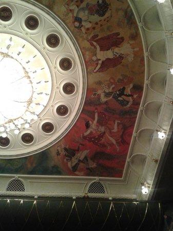 Bolschoi-Theater: Потолок новой сцены