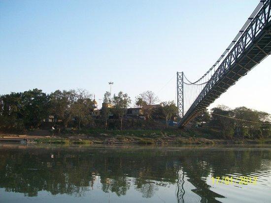 Cuttack, India: The hanging bridge of Dhabaleswar