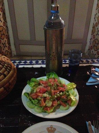 Maison Arabo Andalouse: Moroccan salad