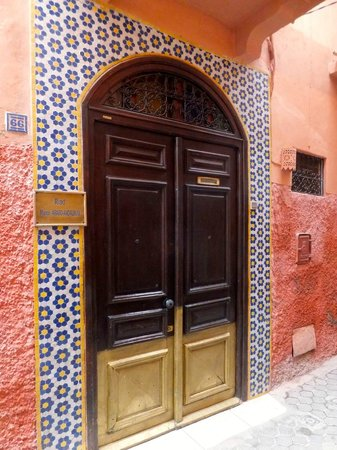 Maison Arabo Andalouse: Riad entrance