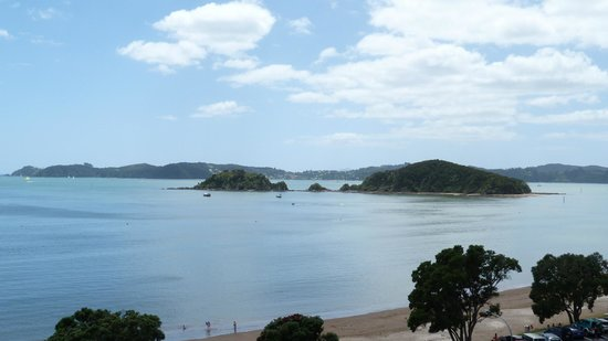 Blue Pacific Apartments Paihia: View over Bay from Lounge Balcony