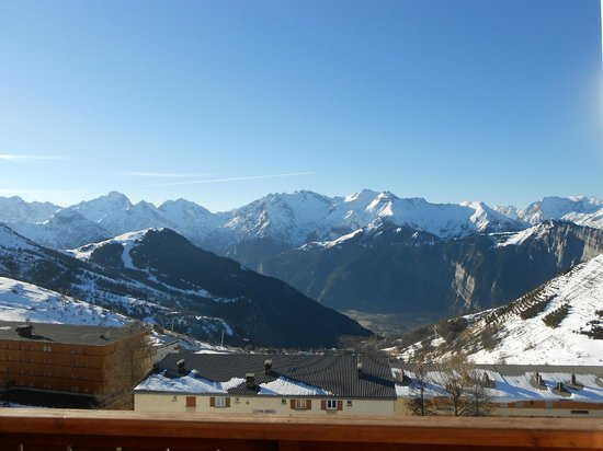 Hotel Le Petit Prince : view from the balcony