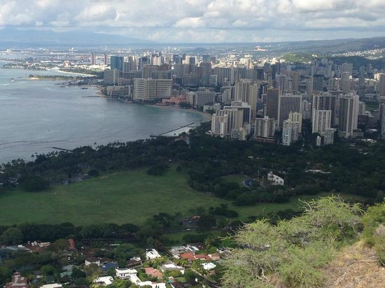 View of Waikiki from Diamond Head