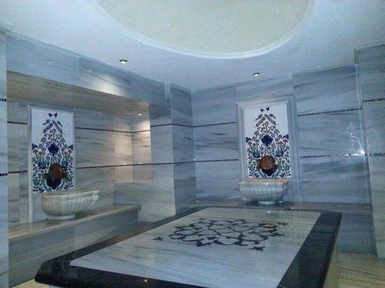 Darkhill Hotel: turkish bath