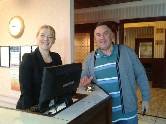 Grosvenor Hotel Torquay: The lovely Rachael