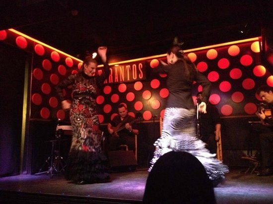 Flamenco Show at Los Tarantos