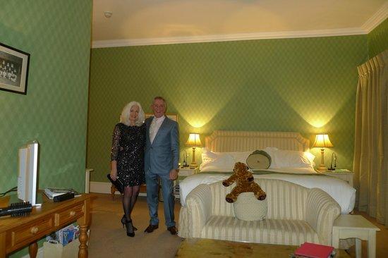 Swinton Park Country Club and Spa : headingley room