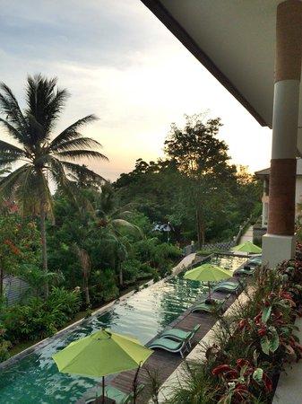 Kebun Villas & Resort: My view 17:55 PM