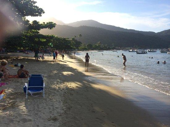 Pousada Tapera das Palmas: Beach in maintown Abrao