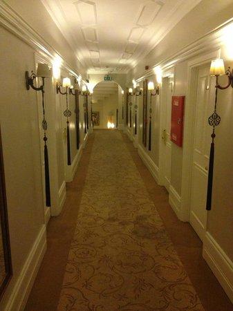 Avicenna Hotel : Hotel corridor