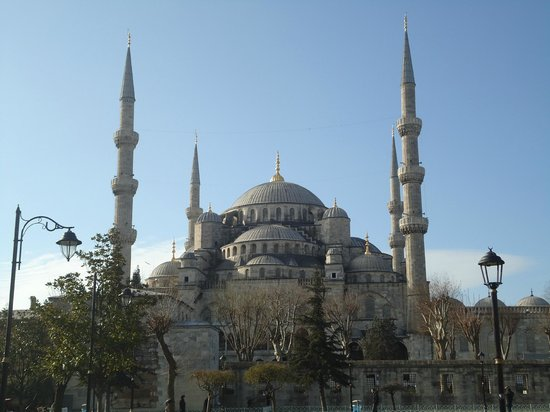 Avicenna Hotel : Blue mosque