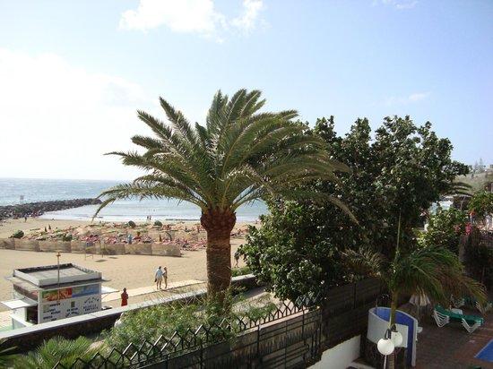 Beverly Park Hotel: Udsigt til stranden fra lejlighed