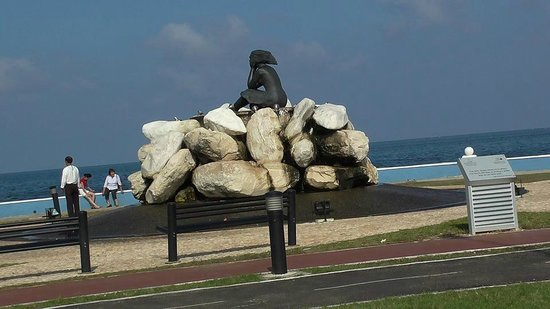 Gamma Campeche Malecon: Waiting for my man