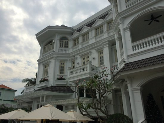 Villa Song Saigon: Lovely colonial building
